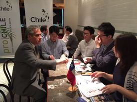 Misión comercial de productos en Corea. Foto: Prochile.