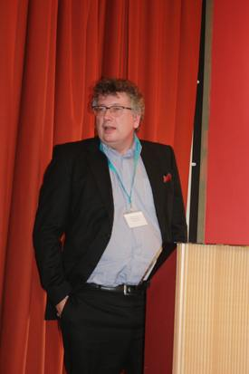 Olavur Gregersen addresses the inaugural conference of the SSIA. Image: Rob Fletcher.