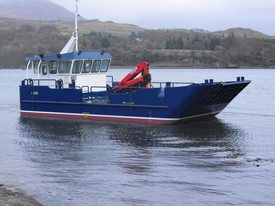 Here's one we built earlier: Applecross-based Northwind has started work on a landing craft similar to this. Photo: Northwind