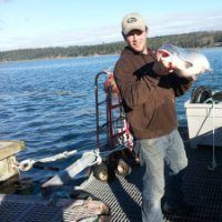 Tom Glaspie urged the committee to visit his salmon farm. Photo: LinkedIn