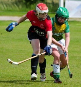 Women's shinty is among the areas supported by Marine Harvest sponsorship. Photo: Women's Camanachd