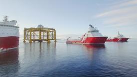 Plain sailing: Ocean Farm 1 on calm waters. Photo: Solstad Farstad