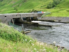RiverAwe dam.Photo: Wikipedia.