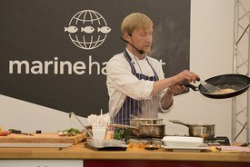Cooking demonstrations will take place in the Marine Harvest Theatre Kitchen at Bught Park. Photo: John MacPherson