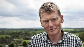 Countryfile presenter Tom Heap vsited Loch Maree, Oban and Machrihanish for the programme's focus on fish farming.