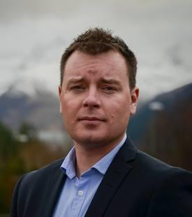Ben Hadfield, administrerende direktør, for Marine Harvest Scotland. Foto: MH.
