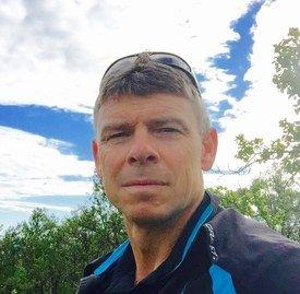 Daglig leder Roy Alapnes i Flakstadvåg Laks AS. Foto Privat.