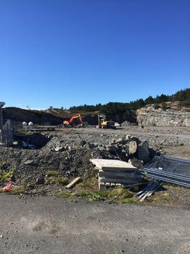 Arbeidet med få på plass ny påvekstavdeling i Øygarden har startet.