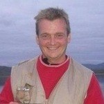 Trond Edvardsen, formann på lokaliteten Ytre Stræte for Nordlaks oppdrett i Troms.
