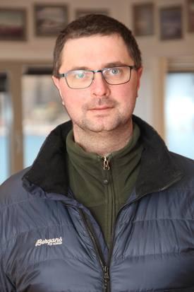 Anders By er ansatt som ny produksjonsleder i Moen Marin Service AS. Foto: Moen Marin.