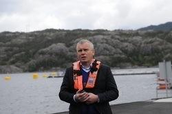 Leder av Lerøy Vest Willy Berglund har stor tro på konseptet.