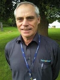 Håvard Bakke sier at Salmobreed har engod frekvens av resistensgener for IPN-viruset. Foto: Salmobreed