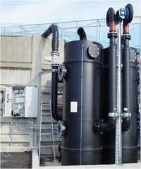 Prototypen på CO2-lufteren har vært testet ut ved Marine Harvests settefiskanlegg i Kvingo i Hordaland.