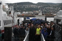 Bilder fra båtturen til Innovasjon Norge. Foto: Innovasjon Norge.