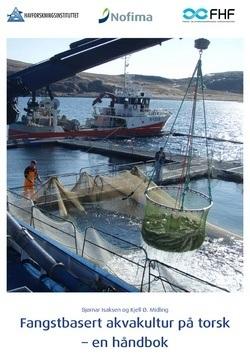 Håndbok i levendelagring. Klikk på bildet for å laste ned. Kilde: Nofima og Havforskningsinstituttet.