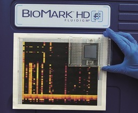 The monitoring platform can  assess the presence of 47 viruses, bacteria and microparasites at once in 96 samples. Photo: PBS