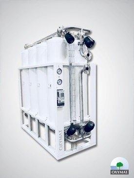 Den nye oksygengeneratoren fra Oxymat kan gi store energibesparelser for oppdretter. Foto: Oxymat.
