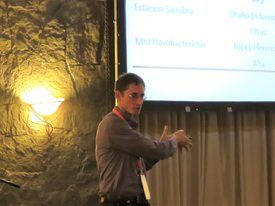 Dr. Daniel Jiménez, jefe de análisis en Intesal. Foto: Francisco Soto, Salmonexpert.