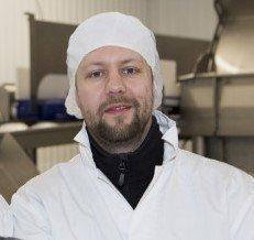Kristian B. Matthíasson gir seg som sjef i Arnarlax. Foto:  Arnarlax.