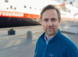 Kommunikasjonsdirektør i Hurtigruten Rune Thomas Ege. Foto: Hurtigruten