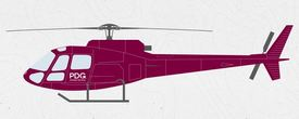 The type of helicopter involved in the accident. Illustration: PDG