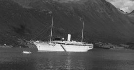 MY «Stella Polaris» i Åndalsnes Kilde: Nasjonalbiblioteket