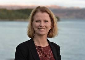 Hege Økland, daglig leder i den maritime industriklyngen NCE Maritime CleanTech.