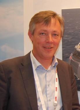 Anders Straumsheim, administrerende direktør ved Fosen Yard er glad for at de fikk oppdraget med å bygge fire «Aquatraz»-pilotmerder for Midt-Norsk Havbruk Produksjon AS. Foto: Vibeke Blich/Skipsrevyen.no.