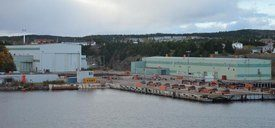 Marystown Shipyard will be leased to Marbase if everything falls into place. Photo: Southern Gazette