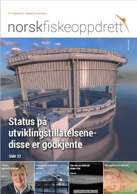 Artikkelen er å finne i siste nummer av Norsk Fiskeoppdrett.