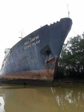 Skipet har forfalt de siste 30 årene Foto: Billy Bong