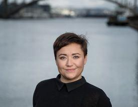 Prosjektleder Line Andersen Foto: Eivind Senneset