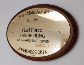 The barge is the 84th made by Gael Force.