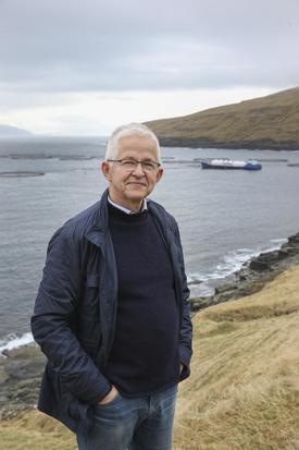 Hiddenfjord-sjef Atli Gregersen sier til Kyst.no at de  for lengst har nådd målet om smolt over 500 gram, og har faktisk satt ut fisk med gjennomsnittsstørrelse på hele 650 gram. Klikk for større bilde. Foto: Privat.