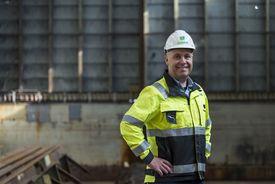 Daglig leder ved Green Yard AS, Hans Jørgen Fedog. Foto: Brklyn