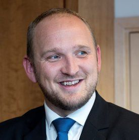 Samferdselsminister Jon Georg Dale. Foto: Olav Heggø