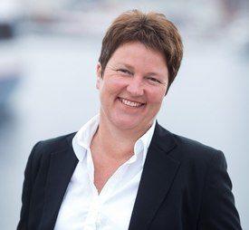 Administrerende direktør Ingrid Kassen sier eksportselskapet har ambisjoner om vekst og har økt tallene fra i fjor. Foto: Norwell.