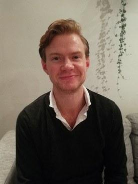 Ivar Bastian Kramer, en av fiskehelsestudentene som har skrevet kommentaren. Foto: Privat.