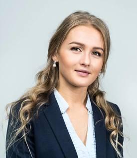 Amalie Tusvik startet i sin nye jobb den 3. september 2018. Foto: Artec Aqua.