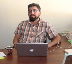 Héctor Nahuelpan, integrante de la Comunidad de Historia Mapuche. Foto: UACh