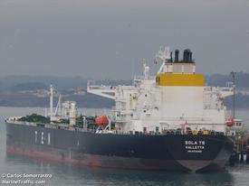 Maltaregistrerte TS«Sola» kolliderte med Fregatten KNM«Helge Ingstad» utenfor Stureterminalen i natt