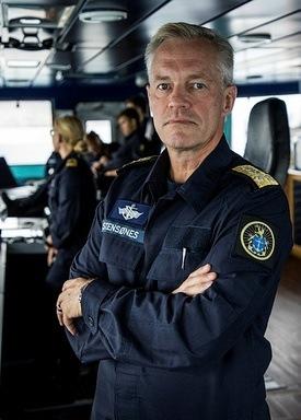 Kontreadmiral Nils Andreas Stensønes vil ikke spekulere i årsaken til ulykken Foto: Jakob Østheim/Forsvaret