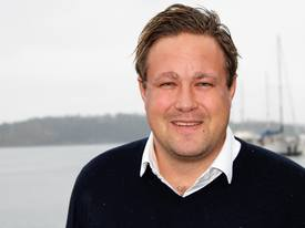 Jon Arvid Holmberg, leder for strategisk logistikk i NOAH.