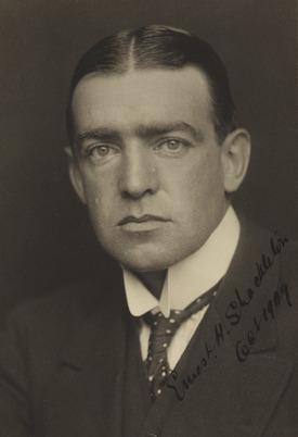 Sir Ernest Shackleton, ca 1909