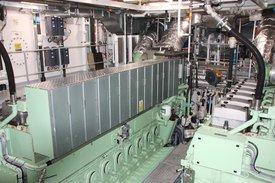 Solide motorer fra Rolls Royce sørger for fremdriften