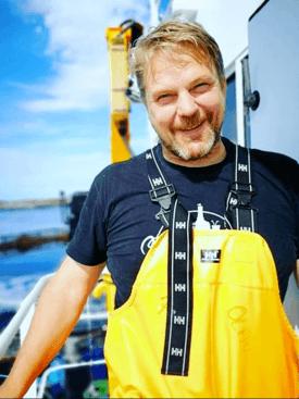 Driftsleder Trond Solsem er veldig fornøyd med den nye flåten og sier det er veldig kjekt med god lagringsplass. Foto: Privat.