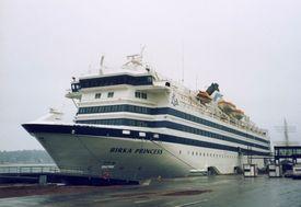 MS «Birka Princess» som ny i 1986 Foto: Holger Ellgaard / Wikipedia