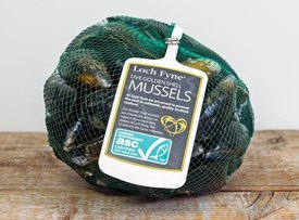 The company's Isle of Lewis-grown mussels are ASC-accredited.
