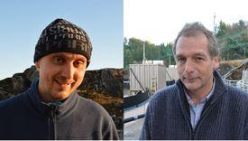 Hans Magne Strømme, left, and Einar Hadler Jacobsen.