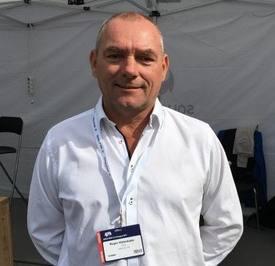 Roger Halsebakk, administrerende direktør i Sølvtrans, forteller til Kyst.no at deres båter er særlig egnet for lukket transport, og stiller seg positiv til fiskeriministerens ambisjoner. Foto: Erich Guerrero/Salmonexpert.cl.